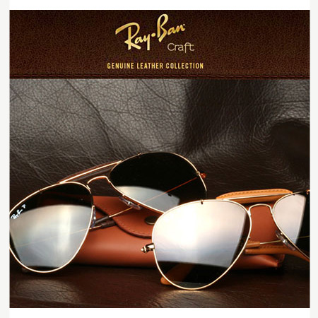 عینک طرح Ray.Ban خلبانی