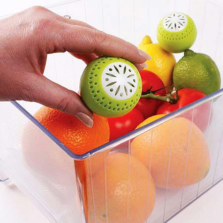 توپ بوگیر و تازه نگهدارنده میوه و سبزیجات