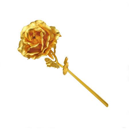 شاخه گل رز طلای نانو